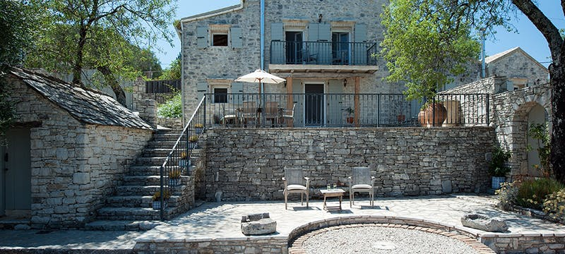 Exterior at Villa Morus, Corfu