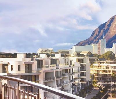 View from the rooms at One&Only Cape Town