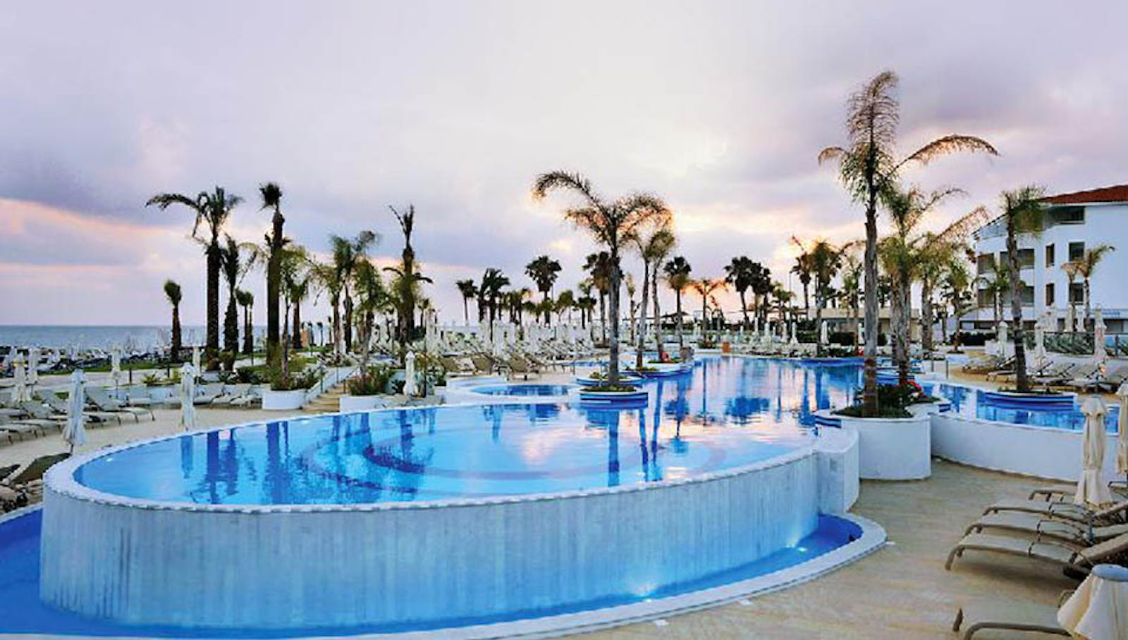 Outside Pool , Olympic Lagoon Resort, Paphos, Cyprus