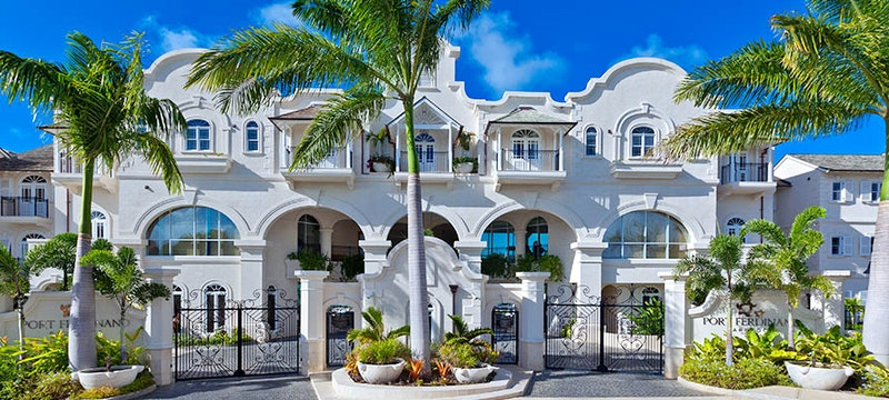 Entrance to Port Ferdinand Marina and Luxury Residences, Barbados