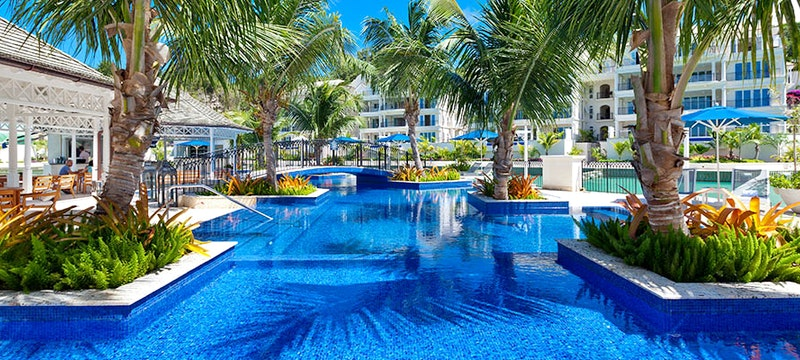 Pool area at Port Ferdinand Marina and Luxury Residences, Barbados