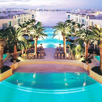 Large pool at Palazzo Versace Hotel