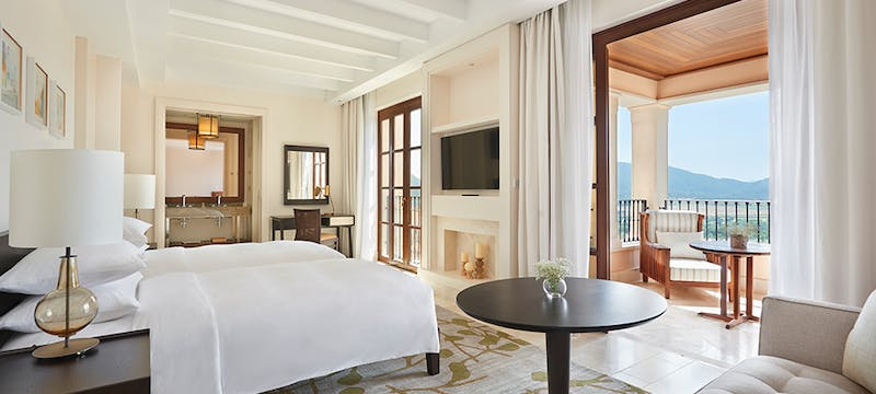 Twin Room at Park Hyatt Mallorca