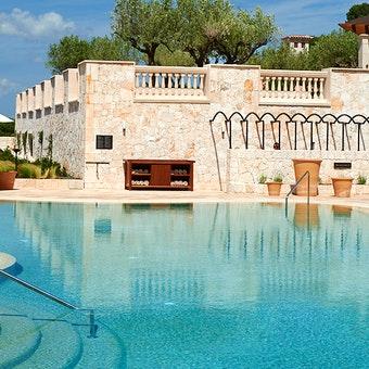 Pool at Park Hyatt Mallorca