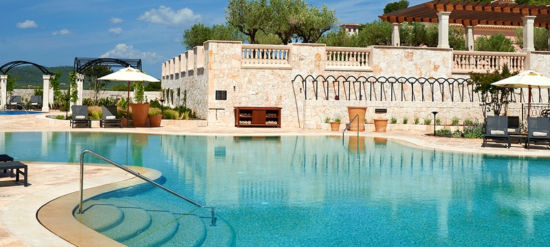 Pool at Park Hyatt Mallorca