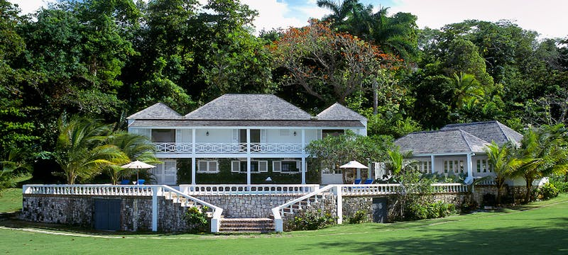 Exterior of Round Hill Villas, Jamaica