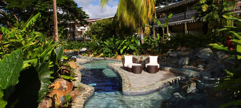 Pool at Rendezvous, St Lucia