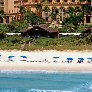 Beach at The Ritz Carlton Naples