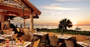 Outside dinning area at The Ritz Carlton Naples