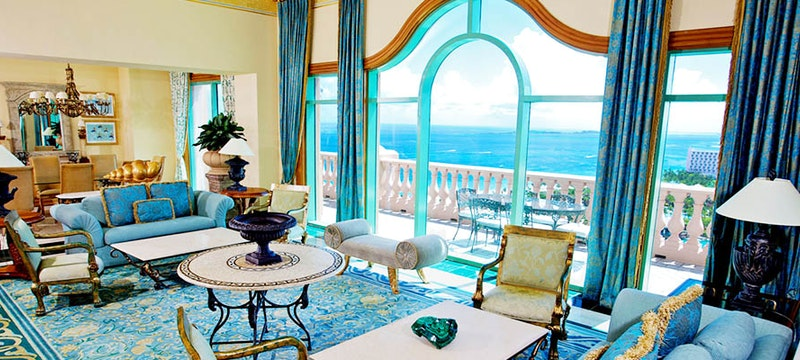 A Royal Suite in the Royal Towers Atlantis, Bahamas