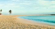 Stroll along the relaxing beaches at Atlantis, Bahamas