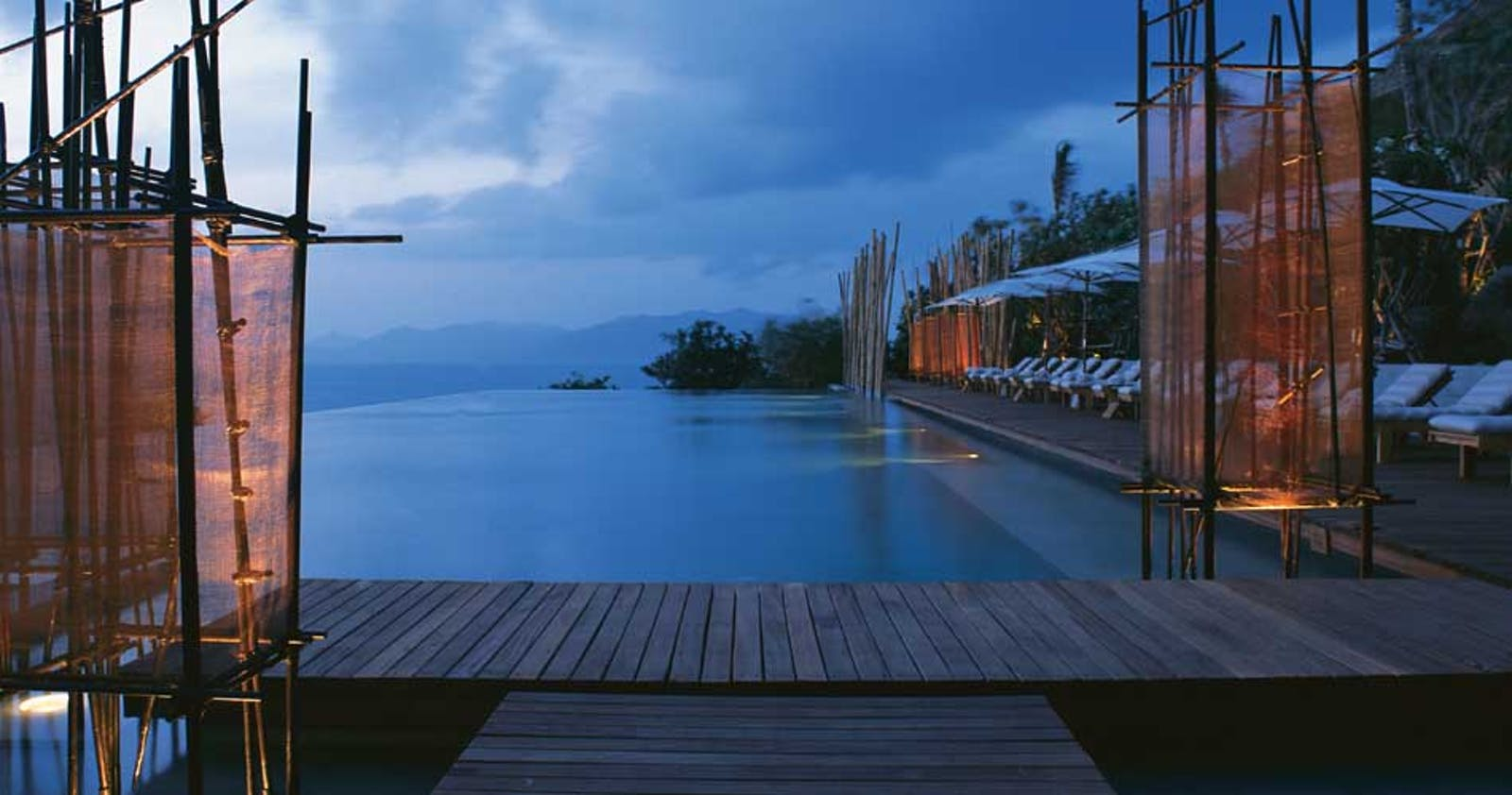 Swimming pool at Six Senses Samui