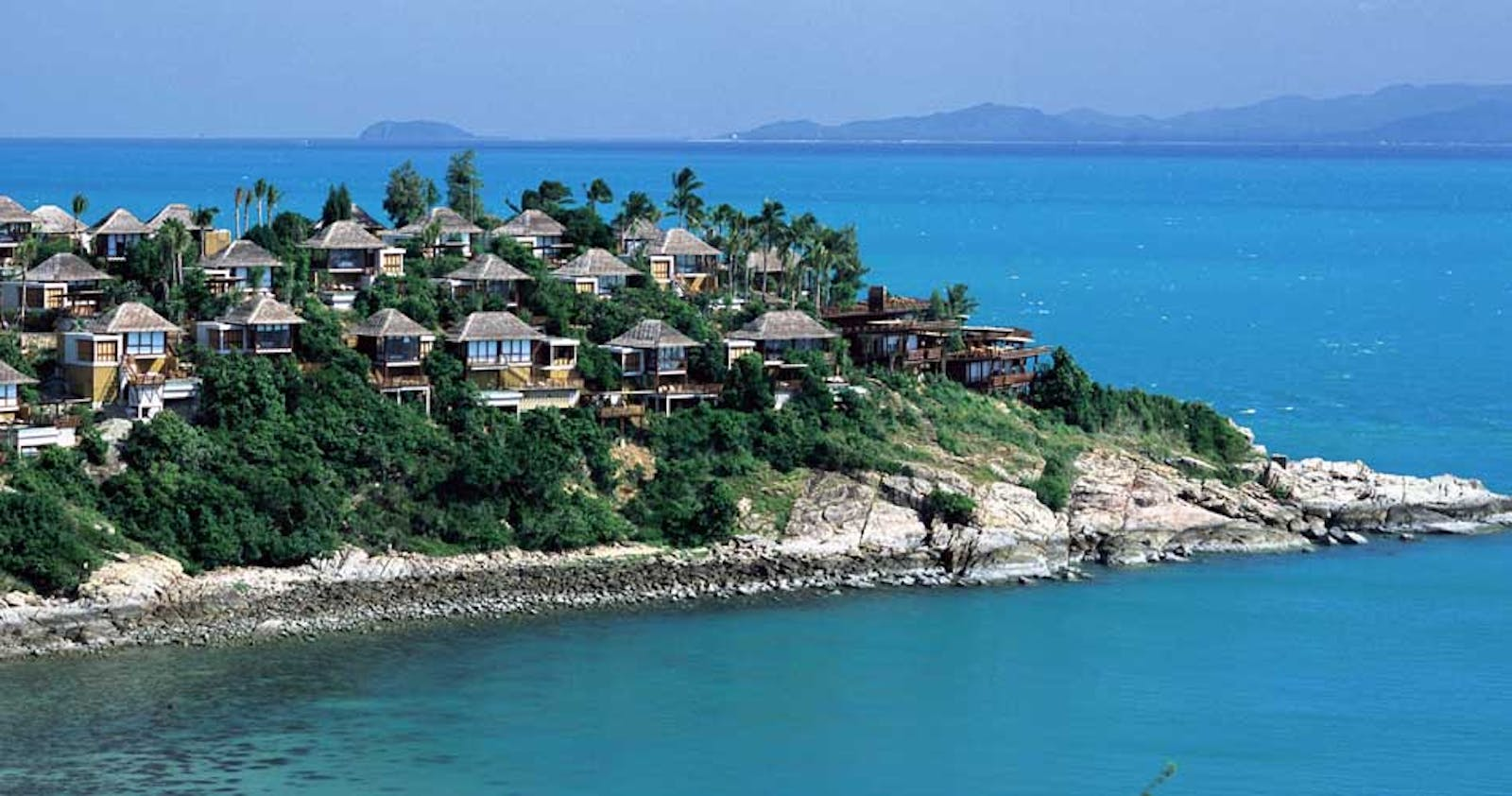 View of Six Senses Samui
