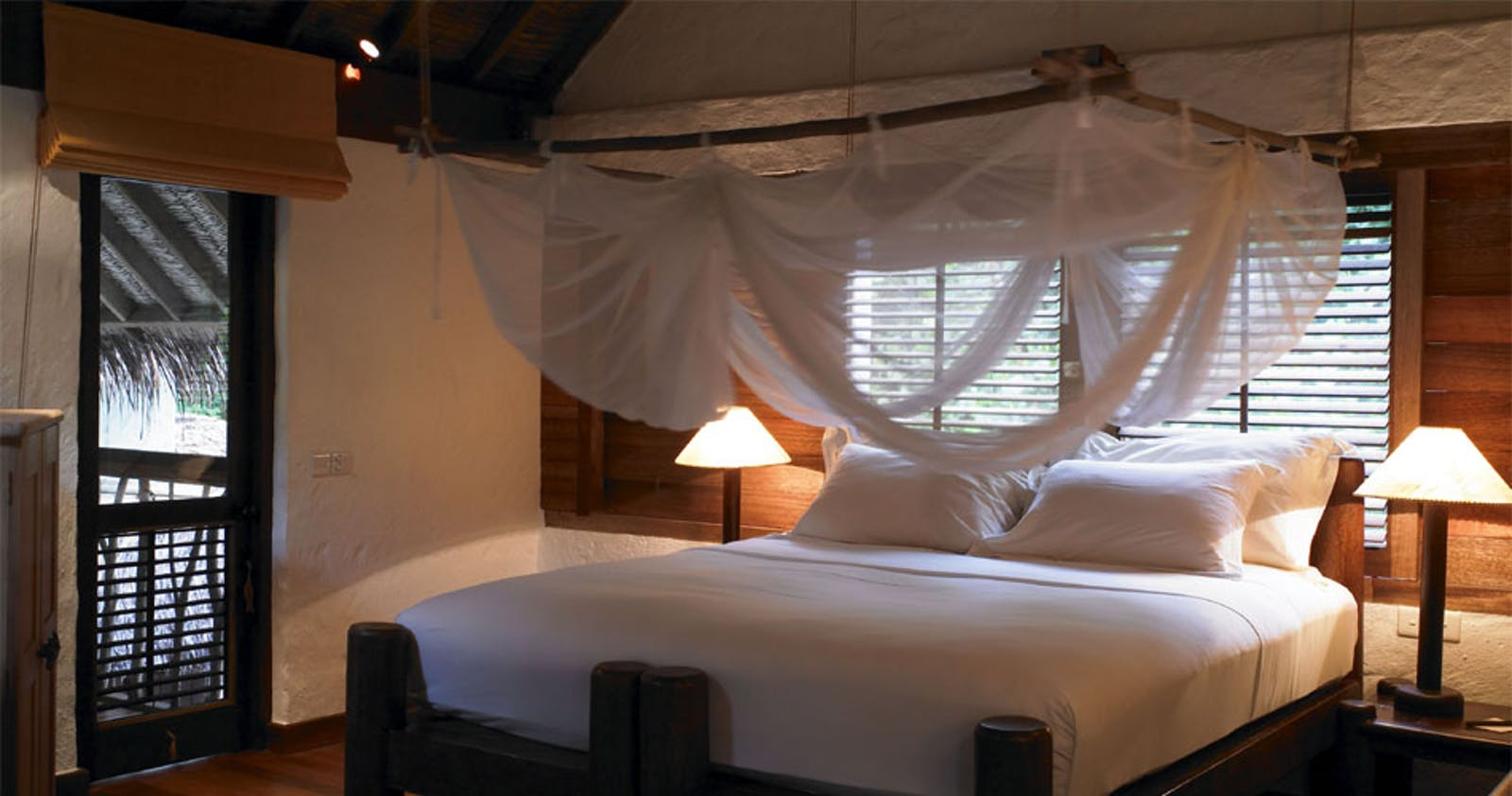 Bedroom at Jungle Reserves at Soneva Fushi