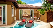 Enjoy a private pool sanctuary in the Butler Villa Suite at Sandals Grande Antigua