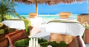 Pamper yourself on the beach at Sandals Royal Bahamian, Bahamas