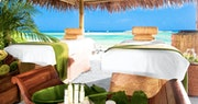 Pamper yourself on the beach at Sandals Royal Bahamian, Bahamas