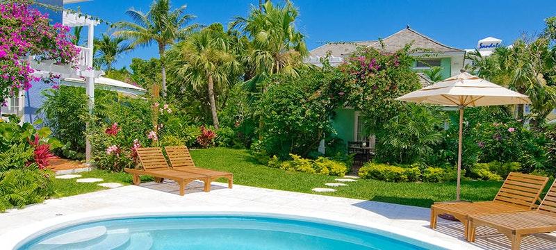 The Royal Village swimming pool at Sandals Royal Bahamian, Bahamas