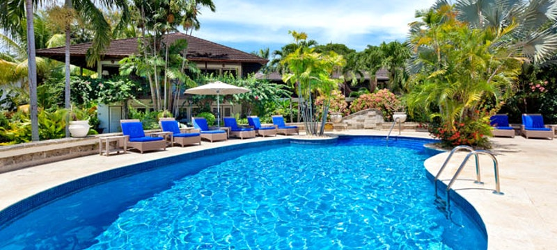 Pool at The Sand Piper, Barbados