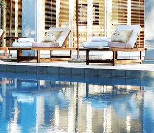 Pool at Saxon Boutique Hotel & Spa