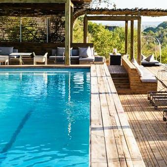Pool at Singita