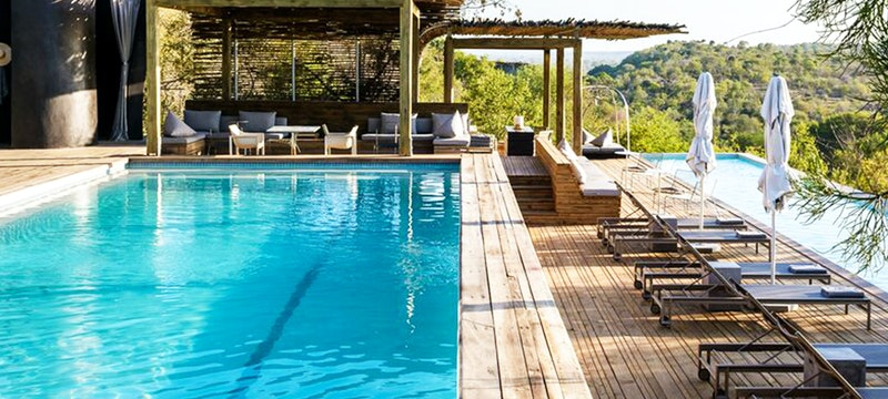 Pool at Singita
