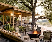 Decking Area at Singita Pamushana Lodge