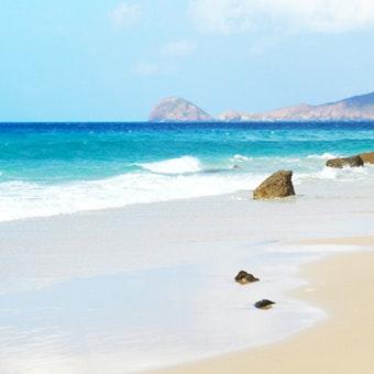 Beach at Six Senses Can Dao