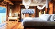 Bedroom at Ninh Van Bay, Vietnam