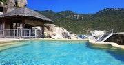 Pool Area at Ninh Van Bay, Vietnam