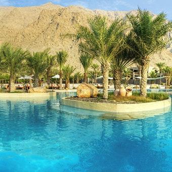 Salt Water Pool at Six Senses Zighy Bay, Oman