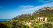 View of Sa Terra Villa at Son Bunyola, Mallorca