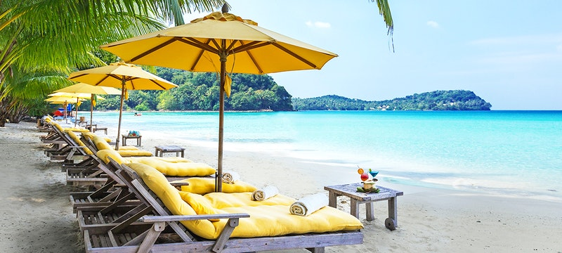 Beach at Soneva Kiri, Koh Kood