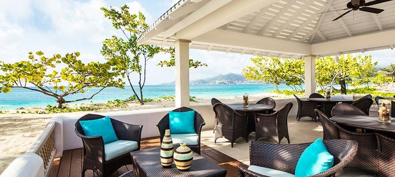 Dining at Spice Island Beach Resort, Grenada