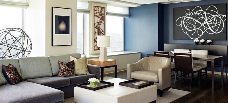 Suite Living Room at St Regis San Francisco