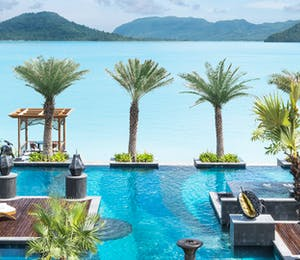 Main pool at St Regis Langkawi