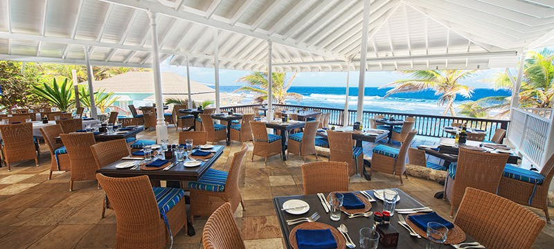 Restaurant at The Atlantis, Barbados