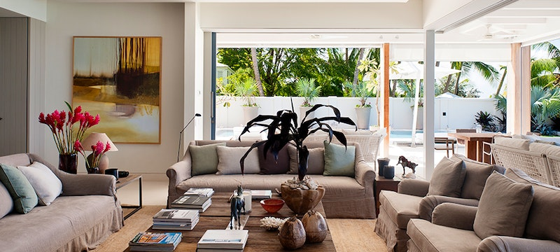 Living Room Area at The Dream, Barbados