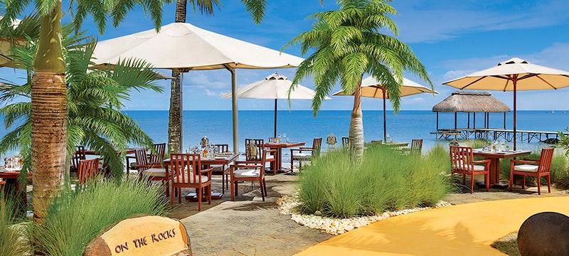 Dining Area at Oberoi Mauritius