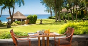 Dining with a view at Oberoi Mauritius