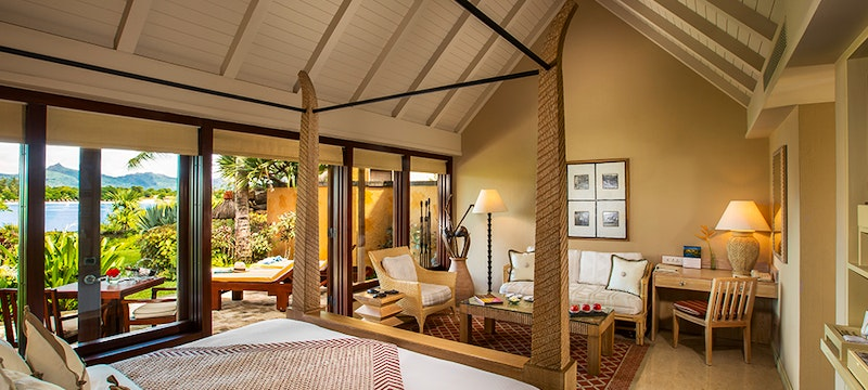 Bedroom at The Oberoi Mauritius