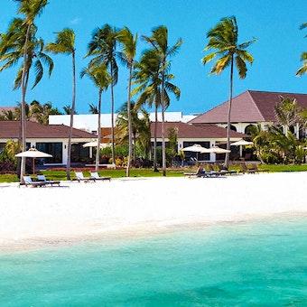 Beach at The Residence Zanzibar