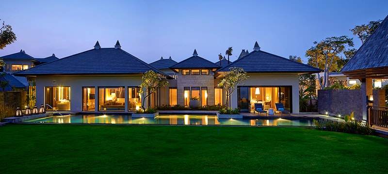 The Ritz Carlton Bali at Night