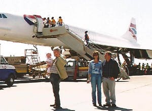 Our Concorde flight to Sandy Lane, Barbados