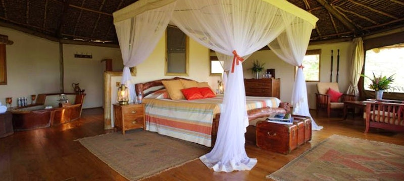 Luxury En-suite at Tortilis Camp, Kenya