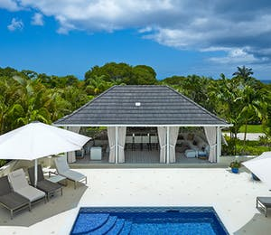 Exterior and Pool Area at Tradewinds, Sandy Lane Barbados