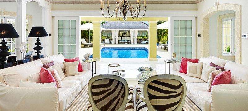 Interior at Tradewinds, Sandy Lane Barbados