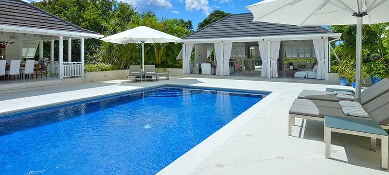 Pool Area at Tradewinds, Sandy Lane Barbados
