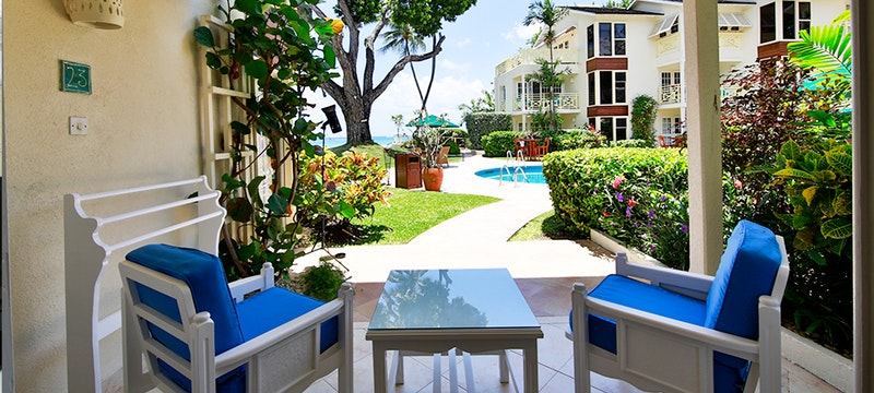 Ocean View Suite Terrace at Treasure Beach, Barbados