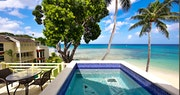 Veiw from Hummingbird Suite Private Pool at Treasure Beach, Barbados